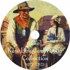Kate Wiggin Children's Audiobook Collection in English on 1 MP3 DVD Free Ship