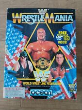 Atari ST game WWF Wrestlemania - boxed