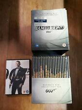 James Bond DVD Collectors Set  23 DVDs