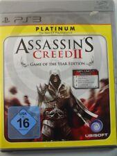 !!! PlayStation ps3 juego Assassin's Creed II Platinum, usados pero bien!!!
