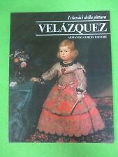 BOOK LIBRO VELAZQUEZ I Classici della Pittura 10 1980 Armando Curcio (L57)