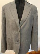 Lauren Ralph Lauren Women's Wool Blend Blazer Jacket Grey Career Sz 16 NWT $295