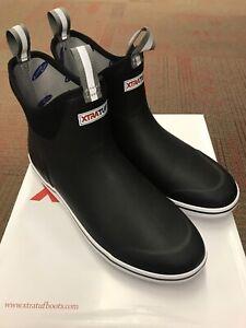 New Xtratuf Men's Deck Boot Black US Size 10