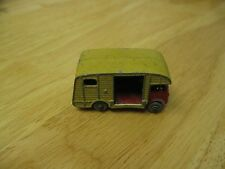 MATCHBOX LESNEY MOKO 35 MARSHALL HORSE BOX MK7 RED CHASSIS & CAB No Box