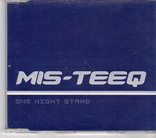 (EX951) Mis-Teeq, One Night Stand - 2001 DJ CD