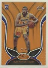 2019-20 Certified Mirror Orange /99 Talen Horton-Tucker #73 Rookie