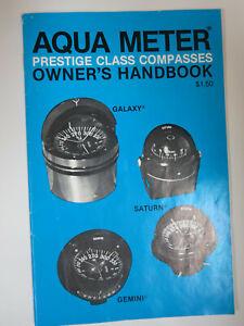 Aqua Meter Owner's Handbook