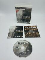 PS3 MEDAL OF HONOR LIMITED EDITION (SONY PLAYSTATION 3)  FREE SHIPPING