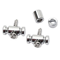 Chrome GE19 Roller String Retainer Mounting Tree Guide for Guitar Parts