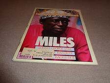 Musician - March 1982 - Miles Davis Cover - Lowell George - Joan Jett