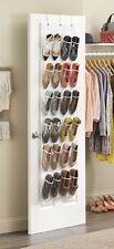 24 Pockets Hanging Wall Shoe Over the Door Organizer Storage Wall Closet Hanger