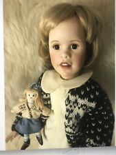 """Sissel Skille Porcelain doll """"Kristin"""" Hand Numbered Artist Edition Doty nominee"""