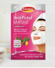 Anti-Acne, Anti Bacterial Face Mask by Schaebens, with Tea Tree Oil, 4x 5ml