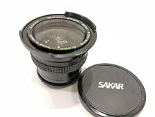 Sakar Semi Wide .42X Fisheye Lens + 49mm Thread Adapter