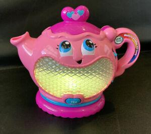 Leapfrog Musical Rainbow Tea Party REPLACEMENT Tea Pot Piece Toy Lights & Sounds