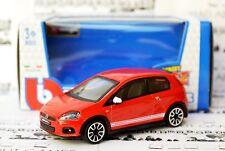 Fiat Abarth Grande Punto 1:43 modelo del coche en miniatura Diecast modelos Die Cast Rojo
