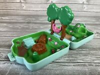 Nintendo Pokemon Tomy Polly Pocket Playset Blue Viridian Forest Compact 1997