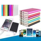 Ultrathin 10400mAh Portable Battery Charger Metal Power Bank For Cell Phone New