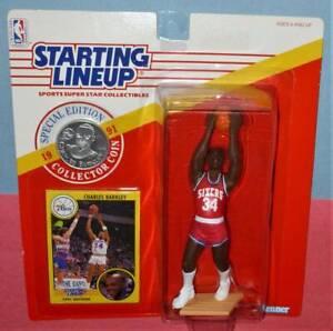 1991 CHARLES BARKLEY #34 Philadelphia 76ers NM-  *FREE_s/h* Starting Lineup
