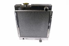 TRI CORE FULL ALUMINUM RACE 3-ROW COOLING RADIATOR 64-66 FORD MUSTANG V8 I6 MT