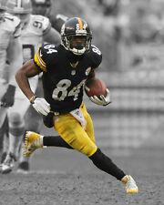 Pittsburgh Steelers ANTONIO BROWN Glossy 8x10 Photo Spotlight Poster Print