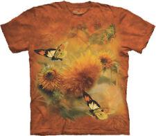 Damen-T-Shirts mit Rundhals-Ausschnitt in Größe 2XL Schmetterling