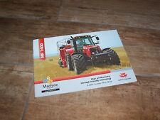Catalogue / Brochure Tracteur MASSEY FERGUSON MF 7400 2005 //