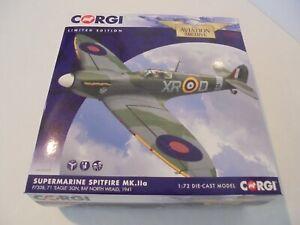 CORGI AVIATION ARCHIVE AA39205 - SUPERMARINE SPITFIRE MK.11a, RAF NORTH WEALD