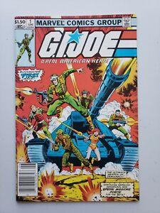 G.I. Joe #1 (1982) Marvel Comic Book Origin Key Higher Grade NEWSSTAND