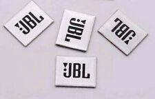 4x Stickers For JBL Aluminum Badge Decal Emblem Car Sound Speaker Logo Glue