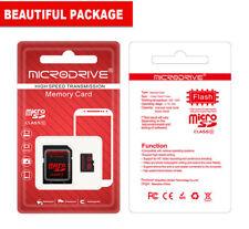 Memoria MICRO SDHC 32GB Microdrive classe 10 con adattatore SD HC x Gps Mp3 cell