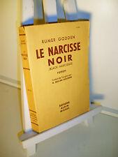 Godden LE NARCISSE NOIR 1949 - Albin Michel
