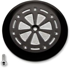Joker Machine Black Techno Air Cleaner Cover 99-17 Harley Dyna Touring Softail