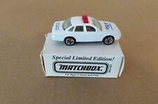 Matchbox ASAP MB54-K13 Ford Crown Victoria Aegis NT Public Safety Police Car VTG