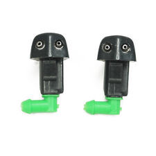2x Windshield Washer Wiper Water Spray Nozzle for Honda Accord DX EX LX SE DX