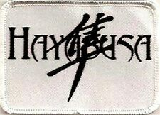 HAYABUSA WITH A SYMBOL PATCH, FUNNY PATCHES, BIKER PATCHES,
