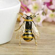 Biene fliegendes Insekt Brosche Honig Imker Königin Bienenkönigin Anstecknadel