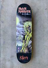 Zero x Iron Maiden 'Killers' Sample Deck Signed by Jamie Thomas