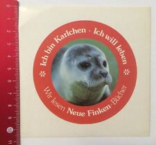 Decal/Sticker: I am Karlchen I Want Life-NEW Sparrows Books (19031688)