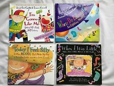 LOT OF 5 Jamie Lee Curtis Books I'm Gonna Like Me, Where Do Balloons Go, &2 MORE