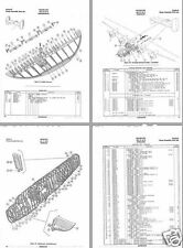 Consolidated B-24 Liberator parts service manual 1944 WW2 RARE HISTORIC DETAIL