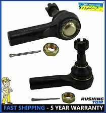 2 Outer Tie Rod End Links Kit For Infiniti J30 M45 Q45 Nissan Frontier ES3661