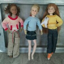 New Listing3 Adorable Vintage Vtg Only Hearts Club Dolls Bendable Long Hair Poseable