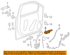 GM OEM Front Door-Handle Base Left 13592466
