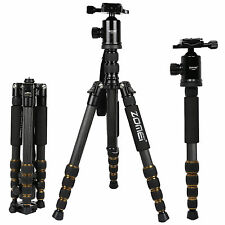 Zomei Professional Carbon Fiber Tripod Monopod&Ball Head Travel for DSLR Camera