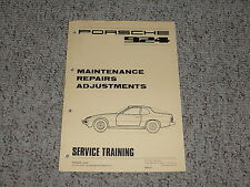 1976 Porsche 924 Maintenance Service Repair Manual 1977 1978 1979 1980 1981 1982