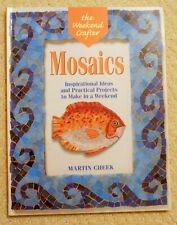 Mosaics Glass Pattern Project Book, DIY Weekend Crafter, M. Cheek, Garden Decor