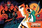 SAMURAI JACK Screen Print Poster by Tom Whalen Mondo Art Limited #/300 NEW RARE!