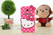3D Hello Kitty Bow Soft Silicone Phone Case Cover For iPhone X SE 5 6 7 8 Plus