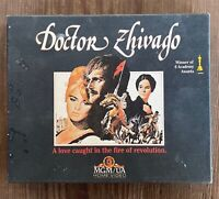 Doctor Zhivago VHS Box Set Part 1 & 2 Video Tapes